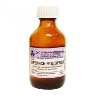 Перекись водорода, р-р 3% (50 мл стекло) Самарамедпром ОАО