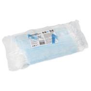 Маски на резинках Голубые (50шт) SENSE PROFESSIONAL 3-х сл