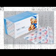 Маски на резинках с детским рисунком (50шт) SENSE CHARISMA 3-х сл