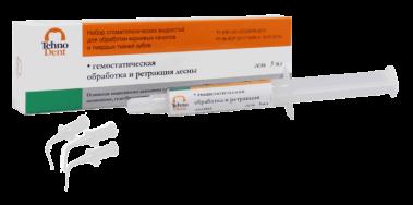 Гемостатический Гель (1шпр 5мл) для ретракции десны Технодент